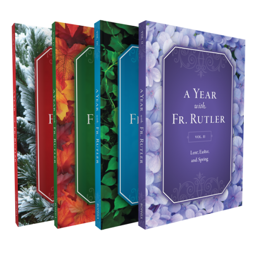 Year With Fr Rutler 4 Book Set Sophia Institute Press