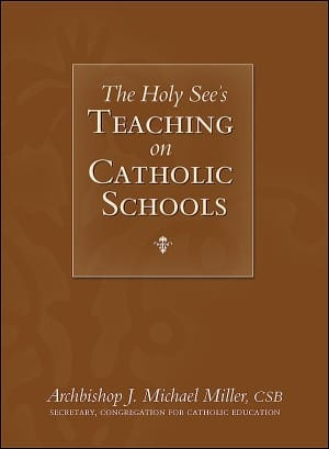 Holy See's Teaching on Catholic Schools book cover