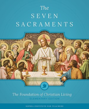 Seven Sacraments Teachers' Guide (Elem) book cover