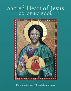 Sacred Heart of Jesus Coloring Book book cover