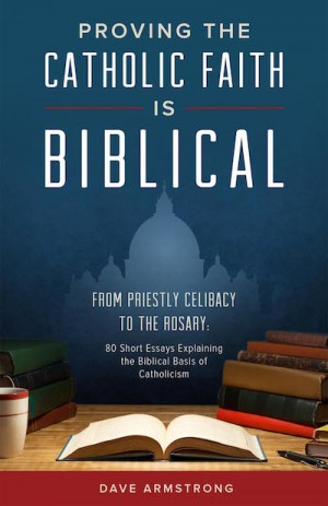 Proving the Catholic Faith is Biblical book cover