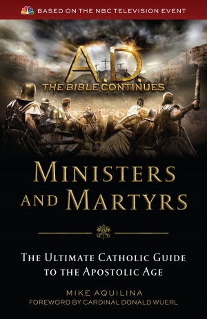Ministers and Martyrs book cover