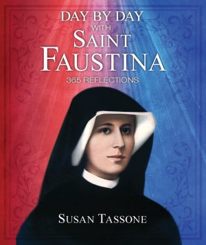 Day by Day with Saint Faustina book cover