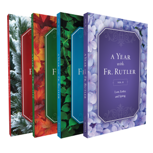 Year with Fr. Rutler 4-Book Set book cover