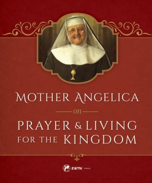 Mother Angelica on Prayer book cover