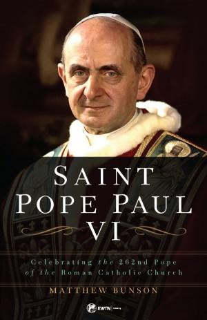 Saint Pope Paul VI book cover