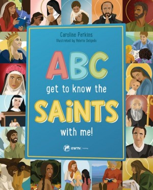ABC Get to Know the Saints with Me book cover