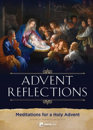 Advent Reflections book cover