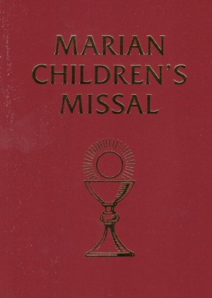 Marian Childrens Missal book cover