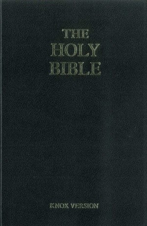 The Holy Bible—Knox Translation book cover