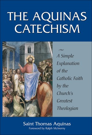 Aquinas Catechism book cover