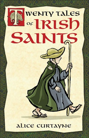 Twenty Tales of Irish Saints book cover