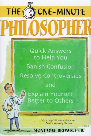The One Minute Philosopher book cover