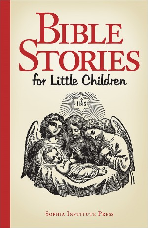 Bible Stories for Little Children book cover