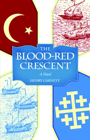 Blood-Red Crescent, The book cover
