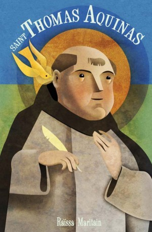 Saint Thomas Aquinas book cover