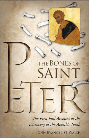 Bones of St Peter, The book cover