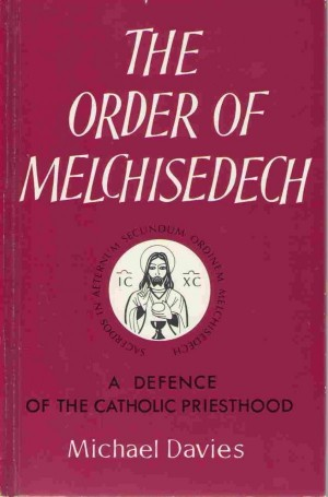 The Order of Melchisedech book cover
