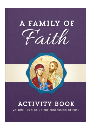 Family of Faith Vol. 1 Children's Book book cover