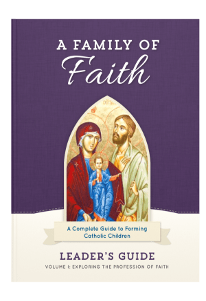 Family of Faith Leader's Guide Cover Image
