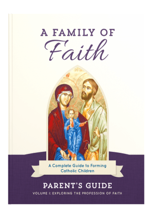 Family of Faith Parent's Guide Cover Image
