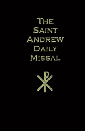 St. Andrew Daily Missal book cover