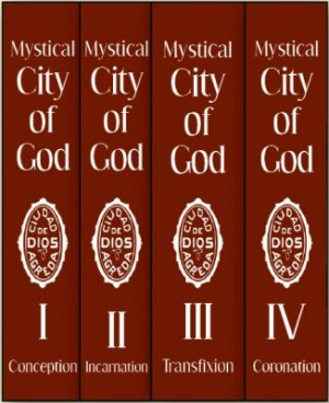 The Mystical City of God — 4 Volume Set book cover