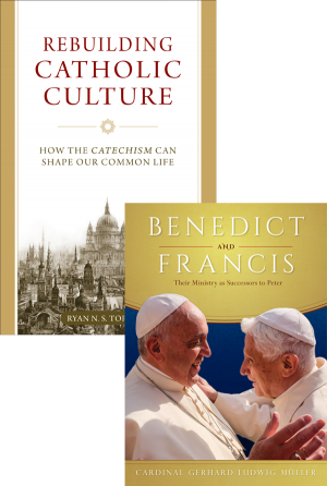 Benedict and Francis set book cover