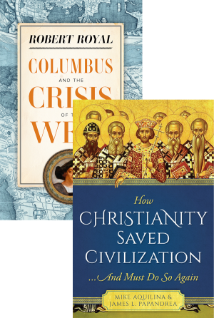 Columbus and the Crisis of the West Set book cover