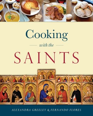 Cooking with the Saints book cover