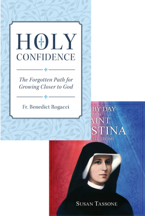 Day by Day with Saint Faustina Set book cover
