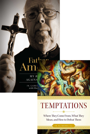 Father Amorth Set book cover
