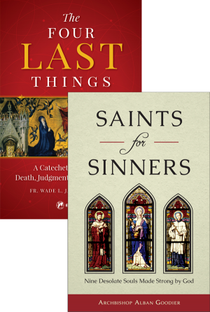 Four Last Things / Saints set book cover