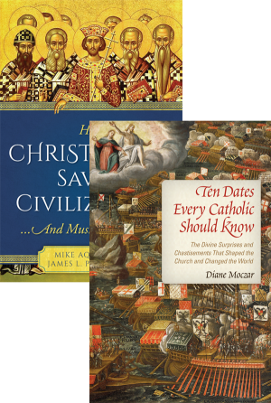 How Christianity Saved Civilization Set book cover