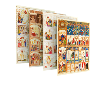 The Illustrated Liturgical Year Calendar Subscription book cover