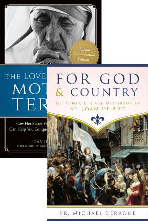 Joan of Arc and Mother Teresa Set bundle