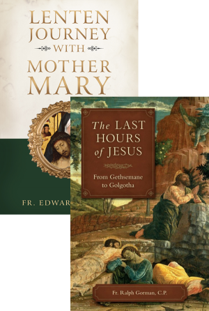 Lenten Journey with Mother Mary Set book cover