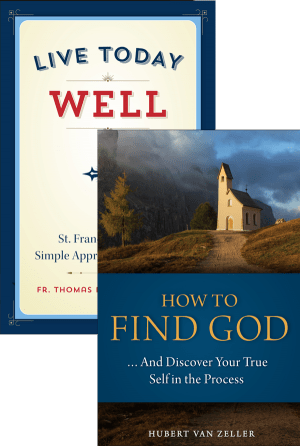 Live Today Well and How to Find God Set bundle