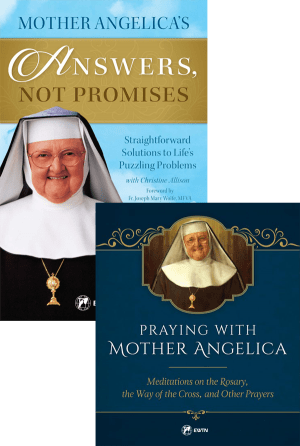 Mother Angelica Prayers and Answers Set bundle