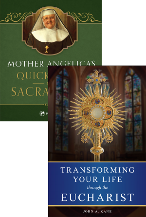 Mother Angelica Sacraments set book cover