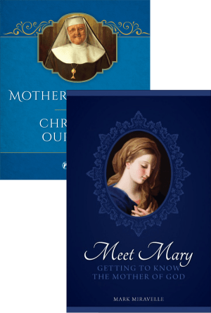 Mother Angelica and Our Lady Set bundle