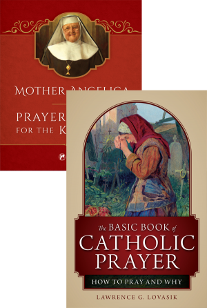 Mother Angelica on Prayer Set book cover