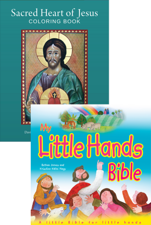 My Little Hands Bible Set book cover