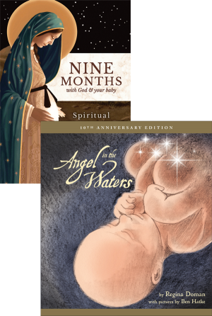Nine Months with God and Your Baby Set book cover