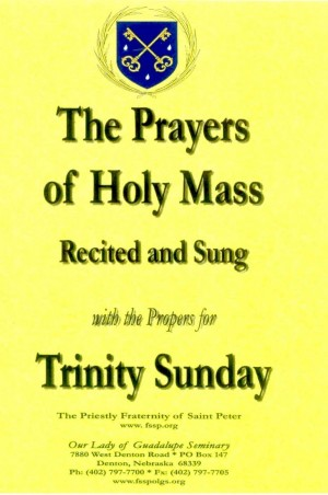 The Prayers of Holy Mass:Recited and Sung book cover