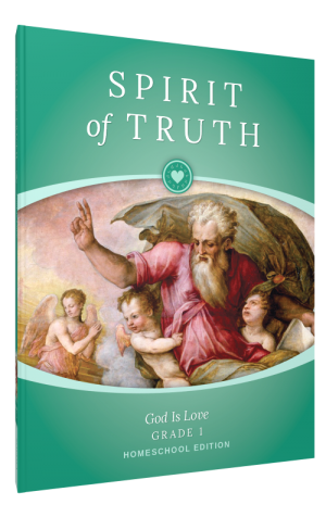Spirit of Truth Home Edition Gr1 Parent Guide book cover