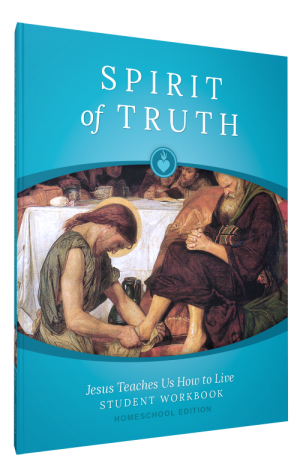 Spirit of Truth Home Edition Gr4 Student Workbook book cover