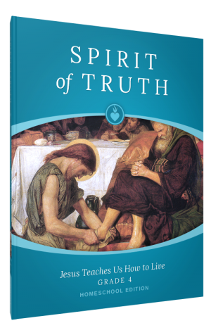 Spirit of Truth Home Edition Gr4 Parent Guide book cover
