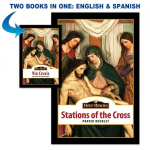 Bi-lingual Stations of the Cross Booklet book cover
