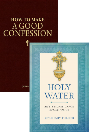 Holy Water and Confession Set book cover